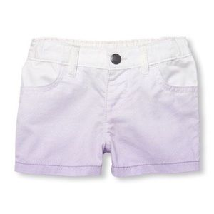 (NWT) the children's place, little girls shorts